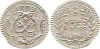 Pfennig 1793 Regensburg-Stadt  Vorzüglich +  31,00 EUR  zzgl. 4,00 EUR Versand