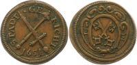 Kupfermarke 1651 Regensburg-Stadt Marken und Zeichen. Sehr schön +  75,00 EUR  zzgl. 4,00 EUR Versand