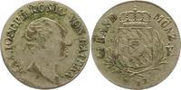3 Kreuzer 1814 Bayern Maximilian I. Joseph 1806-1825. Prägeschwäche, fa... 12,00 EUR  zzgl. 4,00 EUR Versand