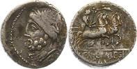 Republik Denar L. & C. Memies 86 - 85 v. Chr..