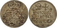 1/24 Taler 1753  A Brandenburg-Preußen Friedrich II. 1740-1786. Sehr sc... 15,00 EUR  zzgl. 4,00 EUR Versand