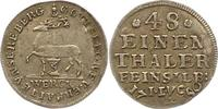 1/48 Taler 1750 Stolberg-Stolberg Christoph Ludwig und Friedrich Botho ... 43,00 EUR  zzgl. 4,00 EUR Versand