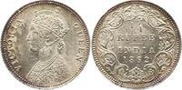 1/4 Rupie 1862 Großbritannien-Britisch Indien  Vorzüglich +  55,00 EUR  zzgl. 4,00 EUR Versand