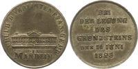 Silbermedaille 1823 Baden-Mannheim, Stadt  Vorzüglich  42,00 EUR  zzgl. 4,00 EUR Versand