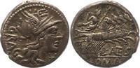 Republik Denar L. Antestius Gragulus 136  0 126 v. Chr..