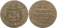 1/12 Taler 1766 Paderborn, Bistum Wilhelm Anton von Asseburg 1763-1782.... 16,00 EUR  zzgl. 4,00 EUR Versand