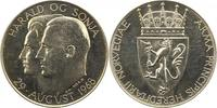 Silbermedaille 1968 Norwegen Olav V. 1957-1991. Vorzüglich - Stempelgla... 45,00 EUR  zzgl. 4,00 EUR Versand
