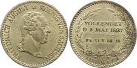 1/6 Sterbetaler 1827 Sachsen-Albertinische Linie Friedrich August I. 18... 38,00 EUR  zzgl. 4,00 EUR Versand