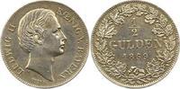 1/2 Gulden 1869 Bayern Ludwig II. 1864-1886. Vorzüglich  85,00 EUR  zzgl. 4,00 EUR Versand