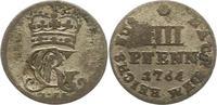 4 Pfennig 1764 Braunschweig-Calenberg-Hannover Georg III. 1760-1820. Fa... 8,00 EUR  zzgl. 4,00 EUR Versand