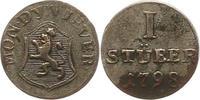 Stüber 1 1798 Jever-Grafschaft Friederike Auguste Sophie 1793-1801. Seh... 32,00 EUR  zzgl. 4,00 EUR Versand