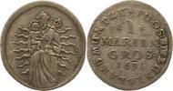 Mariengroschen 1691 Osnabrück-Bistum Ernst August I. 1662-1698. Sehr sc... 95,00 EUR  zzgl. 4,00 EUR Versand