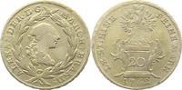 20 Kreuzer 1762 Brandenburg-Ansbach Alexander 1757-1791. Sehr schön  65,00 EUR  zzgl. 4,00 EUR Versand
