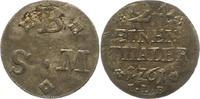 1/24 Taler 1761 Braunschweig-Wolfenbüttel Karl I. 1735-1780. Schrötling... 18,00 EUR  zzgl. 4,00 EUR Versand