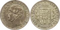 1/6 Taler 1863  B Braunschweig-Calenberg-Hannover Georg V. 1851-1866. V... 38,00 EUR  zzgl. 4,00 EUR Versand
