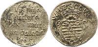 Spruchdreier 1651 Sachsen-Neu-Weimar Wilhelm 1640-1662. Sehr schön  22,00 EUR  zzgl. 4,00 EUR Versand