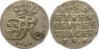 1/48 Taler 1747 Brandenburg-Preußen Friedrich II. 1740-1786. Sehr schön  14,00 EUR  zzgl. 4,00 EUR Versand