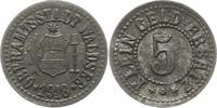 5 Pfennig 1918 Waldsee (Württemberg) Oberamtsstadt  Sehr schön  12,00 EUR  zzgl. 4,00 EUR Versand