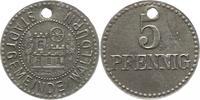 5 Pfennig  Walldürn (Baden), Stadt  Originalloch, sehr schön  12,00 EUR  zzgl. 4,00 EUR Versand