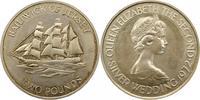 2 Pfund 1972 Großbritannien-Jersey Elsabeth II. Seit 1952. Polierte Pla... 30,00 EUR  zzgl. 4,00 EUR Versand