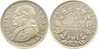 10 Soldi 1866  R Italien-Kirchenstaat Vatikan Pio IX. 1846-1878. Sehr s... 15,00 EUR  zzgl. 4,00 EUR Versand