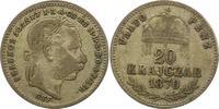 20 Kreuzer 1870 Haus Habsburg Franz Joseph I. 1848-1916. Schön - sehr s... 26,00 EUR  zzgl. 4,00 EUR Versand