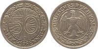 50 Reichspfennig 1935  J Weimarer Republik  Sehr schön +  12,00 EUR  zzgl. 4,00 EUR Versand