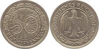 50 Reichspfennig 1938  E Weimarer Republik  Fast vorzüglich  22,00 EUR  zzgl. 4,00 EUR Versand
