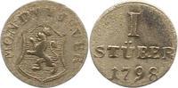 Stüber 1 1798 Jever-Grafschaft Friederike Auguste Sophie 1793-1801. ^fa... 24,00 EUR  zzgl. 4,00 EUR Versand