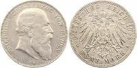5 Mark 1903  G Baden Friedrich I. 1856-1907. Randfehler, sehr schön  40,00 EUR  zzgl. 4,00 EUR Versand