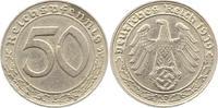 50 Reichspfennig 1939  D Drittes Reich  Winz. Schrötlingsfehler, sehr s... 32,00 EUR  zzgl. 4,00 EUR Versand