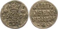 4 Pfennig 1691 Hildesheim-Bistum Jobst Edmund von Brabeck 1688-1702. Se... 32,00 EUR  zzgl. 4,00 EUR Versand