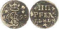 4 Pfennig 1692 Hildesheim-Bistum Jobst Edmund von Brabeck 1688-1702. Se... 30,00 EUR  zzgl. 4,00 EUR Versand