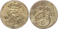 6 Pfennig 1701 Hildesheim-Bistum Jobst Edmund von Brabeck 1688-1702. Se... 42,00 EUR  zzgl. 4,00 EUR Versand