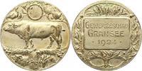 Versilberte Bronzemedaille 1924 Landwirtschaft  Sehr schön  22,00 EUR  zzgl. 4,00 EUR Versand