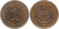 1 Pfennig 1875  A Kleinmünzen  Fast Stempelglanz  26,00 EUR  zzgl. 4,00 EUR Versand