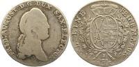 1/3 Taler 1785 Sachsen-Albertinische Linie Friedrich August III. 1763-1... 20,00 EUR  zzgl. 4,00 EUR Versand