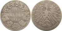Doppelgulden 1847 Frankfurt-Stadt  Punzen, schön  32,00 EUR  zzgl. 4,00 EUR Versand