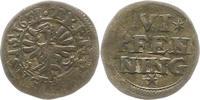 6 Pfennig 1651 Dortmund Städtische Prägungen. Knapp sehr schön  35,00 EUR  zzgl. 4,00 EUR Versand