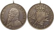 Silbermedaille 1911 Bayern Prinzregent Luitpold 1886-1912. Vorzüglich  32,00 EUR  zzgl. 4,00 EUR Versand