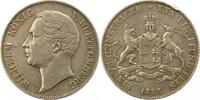 Taler 1858 Württemberg Wilhelm I. 1816-1864. Randfehler, Schrötlingsfeh... 65,00 EUR  zzgl. 4,00 EUR Versand
