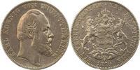 Taler 1870 Württemberg Karl 1864-1891. Sehr schön  90,00 EUR  zzgl. 4,00 EUR Versand
