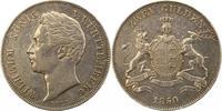 Doppelgulden 1850 Württemberg Wilhelm I. 1816-1864. Sehr schön +  125,00 EUR  zzgl. 4,00 EUR Versand