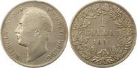 Gulden 1840 Württemberg Wilhelm I. 1816-1864. Randfehler, fast sehr sch... 38,00 EUR  zzgl. 4,00 EUR Versand