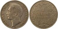 Gulden 1842 Württemberg Wilhelm I. 1816-1864. Schöne Patina. Sehr schön... 60,00 EUR  zzgl. 4,00 EUR Versand