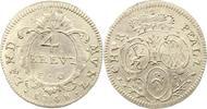 4 Kreuzer 1748 Pfalz-Kurlinie Karl Theodor 1742-1799. Sehr schön +  32,00 EUR  zzgl. 4,00 EUR Versand