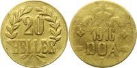 20 Heller Messing 1916  T Deutsch Ostafrika  Schön  10,00 EUR  zzgl. 4,00 EUR Versand