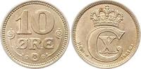 10 Öre 1 1921 Dänemark Christian X 1912-1947. Vorzüglich +  18,00 EUR  zzgl. 4,00 EUR Versand