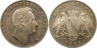 Doppelgulden 1852 Baden-Durlach Leopold 1830-1852. Winz. Kratzer, vorzü... 145,00 EUR  zzgl. 4,00 EUR Versand