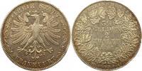 Doppeltaler 1841 Frankfurt-Stadt  Winz. Randfehler, sehr schön  195,00 EUR  zzgl. 4,00 EUR Versand